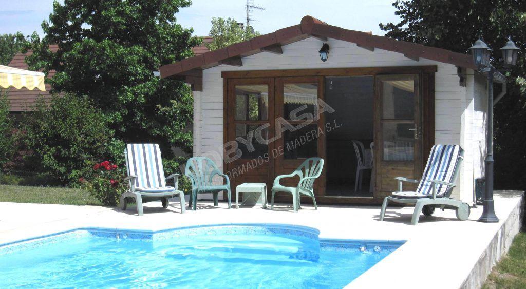 mejor modelo de casa de madera para piscina Blackpool