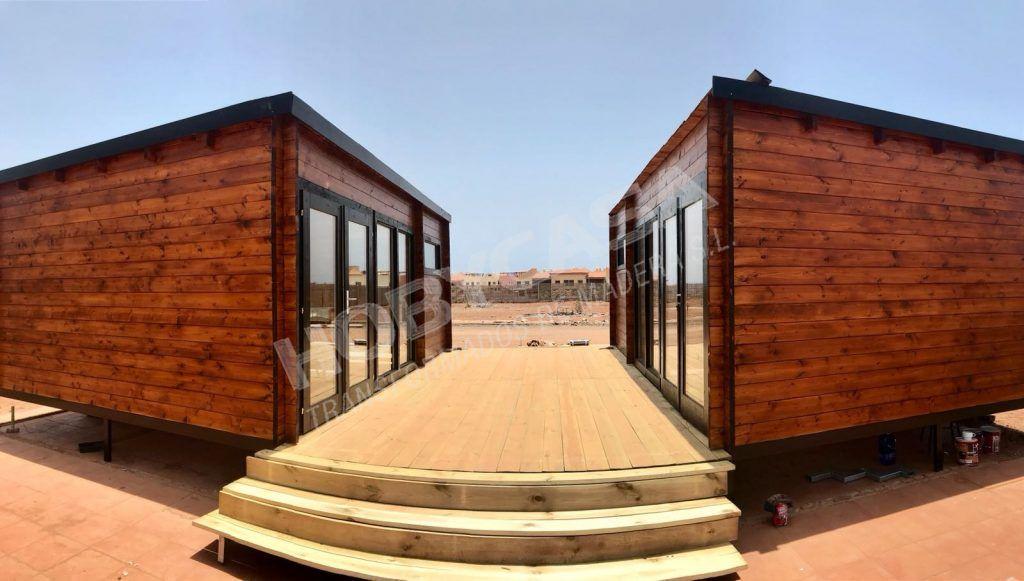 Mejores casas de madera moderno Flow