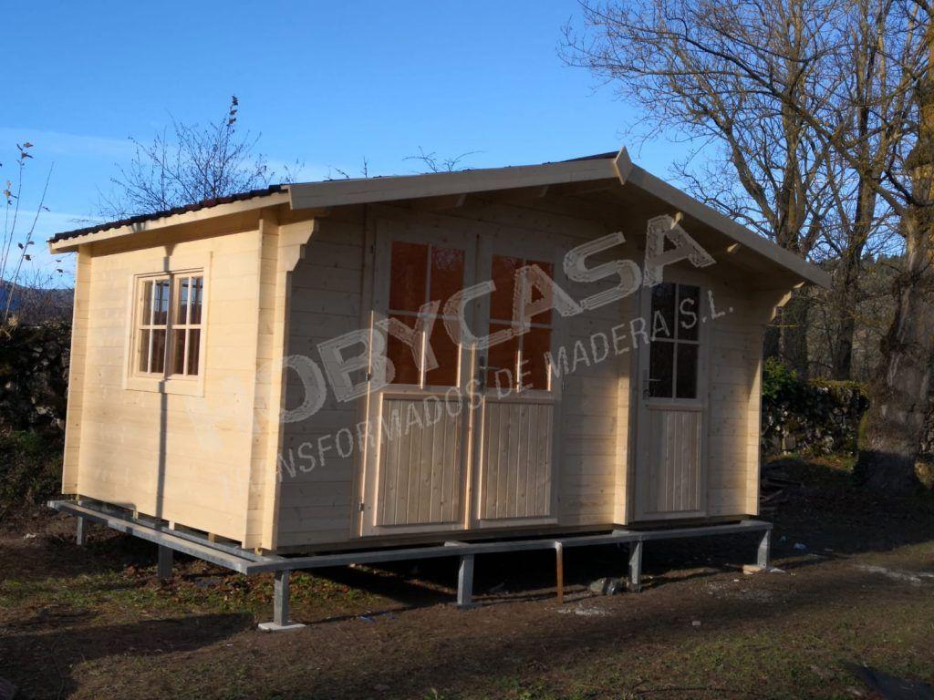 mejores casas de madera sobre estructura de hierro
