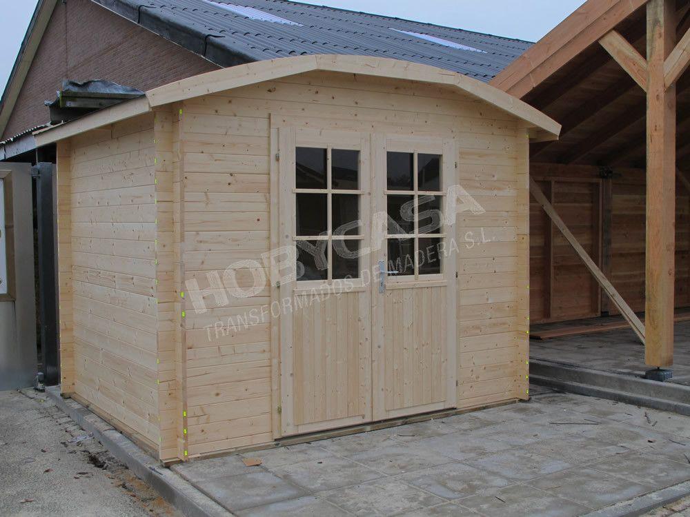 ventajas de comprar una caseta de madera Klair