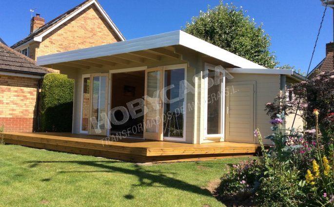 consejos para comprar una casa de madera de estilo moderno Yorick