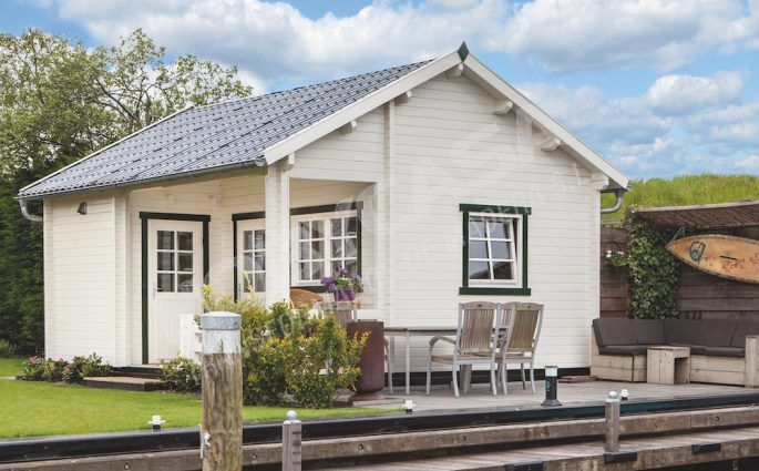 consejos para comprar una cabaña de madera Edelweiss