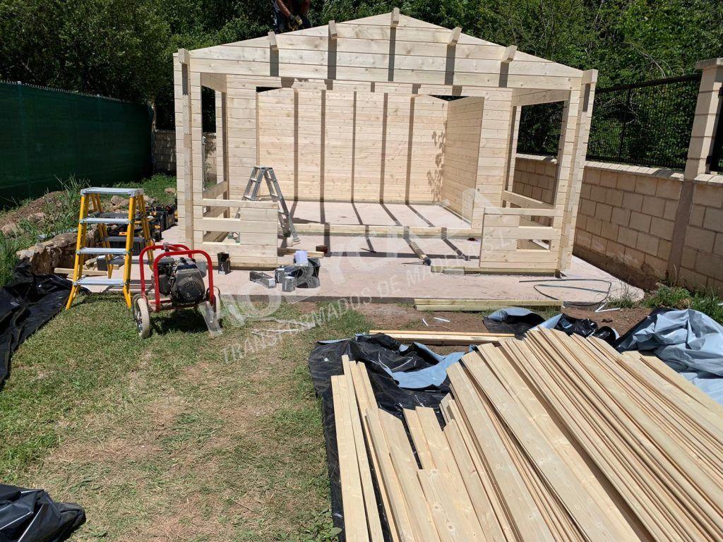 bungalow a medida montaje Ipswich