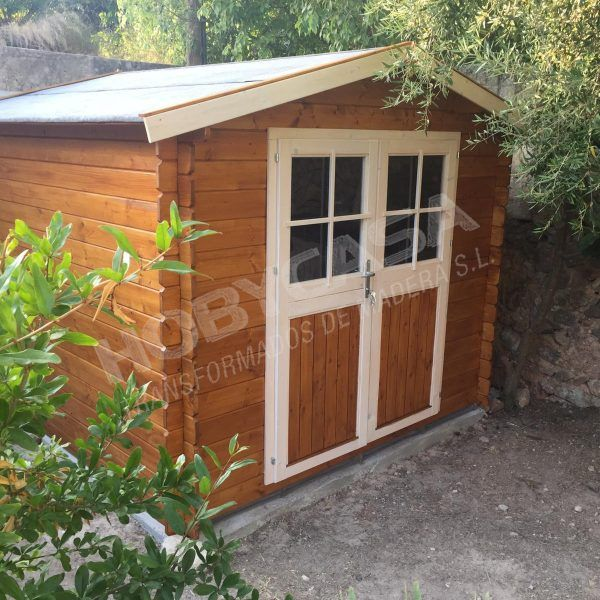 casetas de madera para jardin a medida St. Moritz