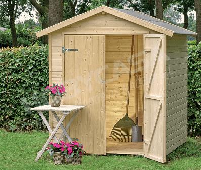 ventajas de comprar una caseta de madera Narciso