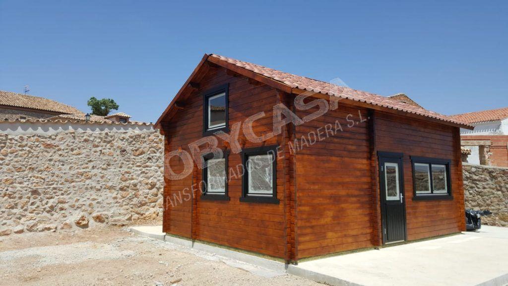 la mejor casa de madera con altillo Mallorca