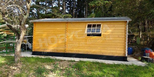 Consejos para comprar garajes de madera BoxAuto detalle lado
