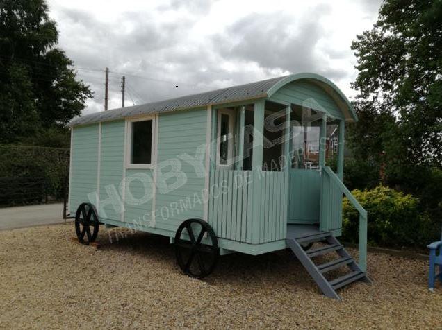 Lo que hay que saber antes de comprar un bungalow de madera Gypsy caravan