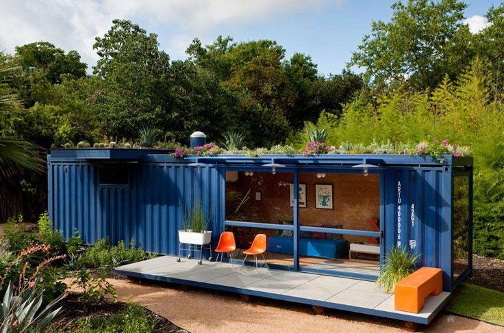 ventajas de comprar mini casas de madera Contenedor