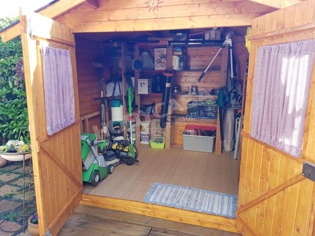 Ventajas de comprar un cobertizo de madera Iris