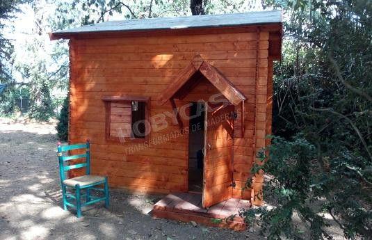Ventajas de comprar una casita de madera para niños Fina modificada