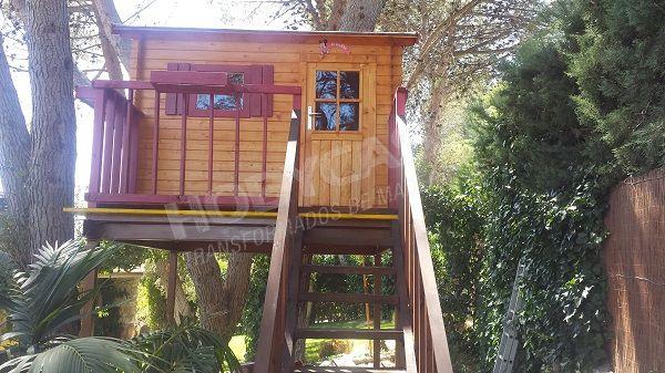 Ventajas de comprar una casita de madera para niños Casa del arbol