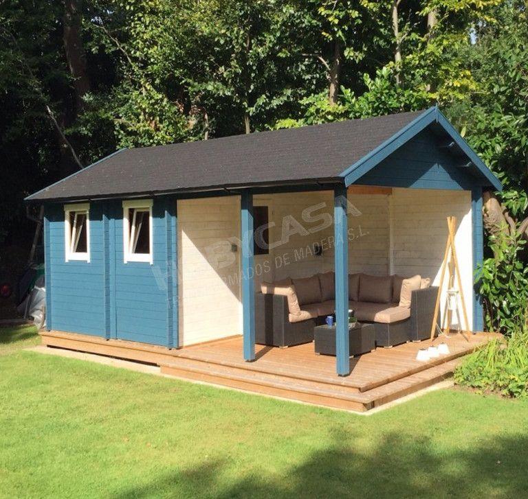 Consejos para comprar garajes de madera Ever pintado
