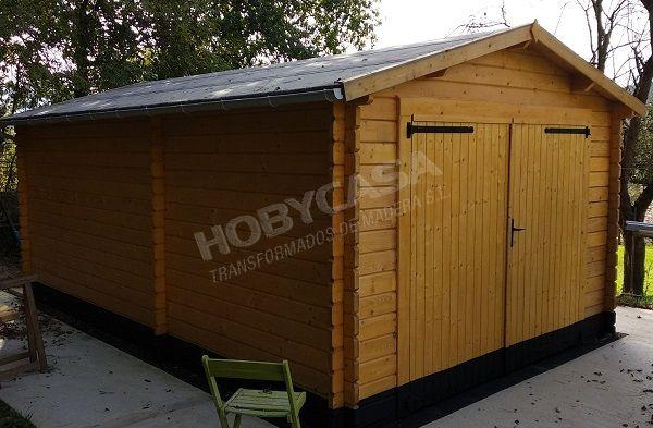 Consejos para comprar garajes de madera BoxAuto lateral