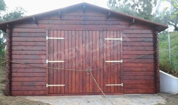 Consejos para comprar garajes de madera BoxAuto entrada
