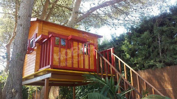 Ventajas de comprar una casita de madera para niños Kinder arbol