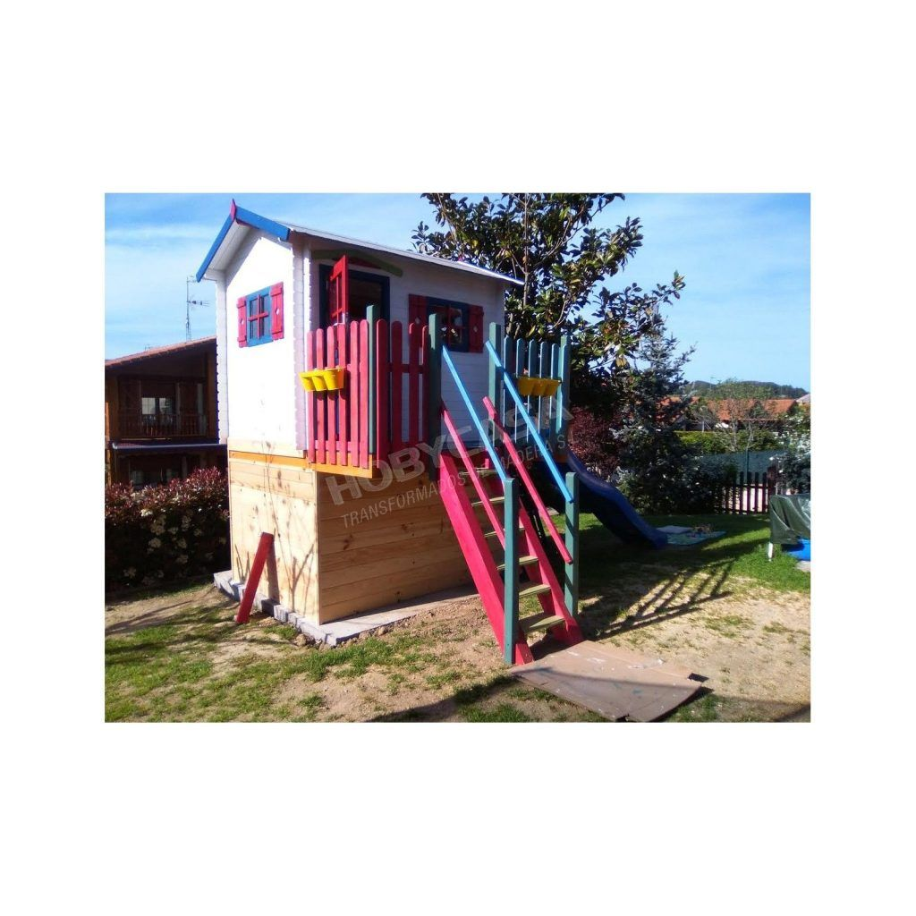 Ventajas de comprar una casita de madera para niños Kinder plataforma