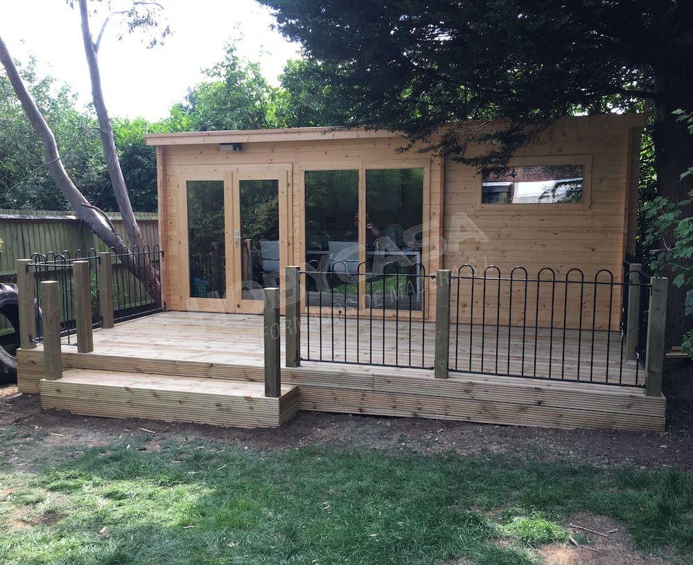 Qué es necesario para montar una casa de madera Flow