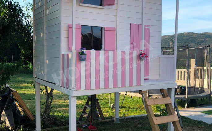 Ventajas de comprar una casita de madera para niños Assepoester