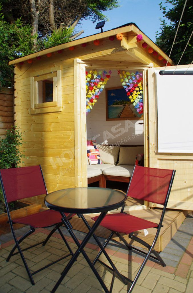 Ventajas de comprar una casita de madera para niños Petit