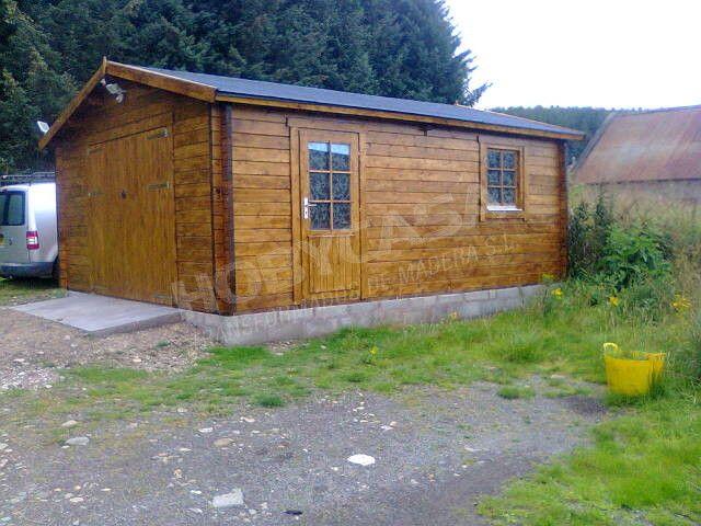 Consejos para comprar garajes de madera Rydell lateral