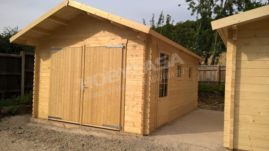Consejos para comprar garajes de madera Geir lateral