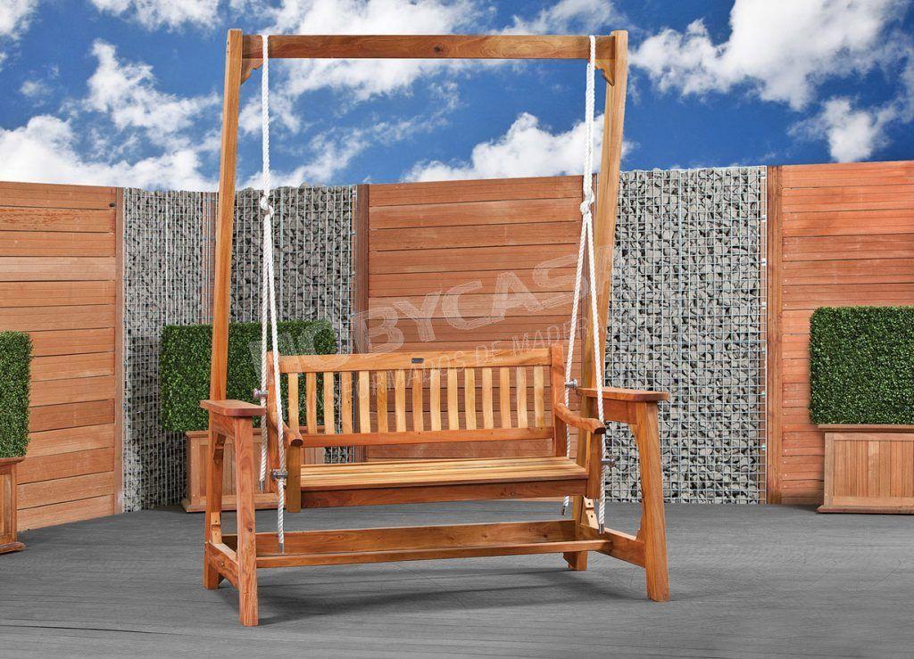 Que el la madera tropical certificada columpio