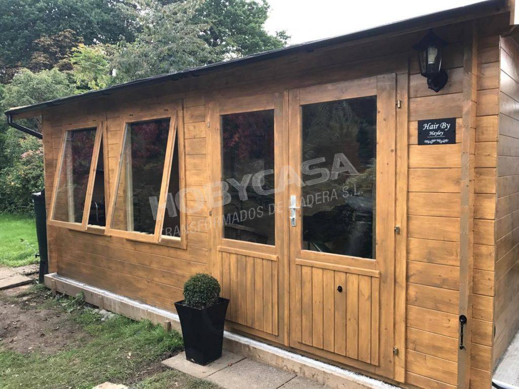 Casas de madera 20 m2 Aiste