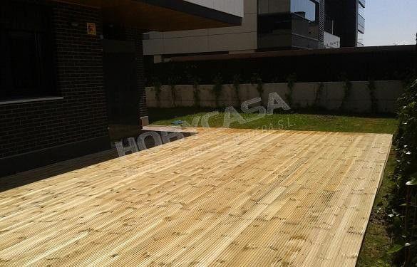 Que es la madera con tratamiento autoclave para jardín