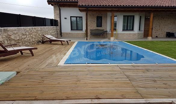 Que es la madera con tratamiento autoclave detalle piscina