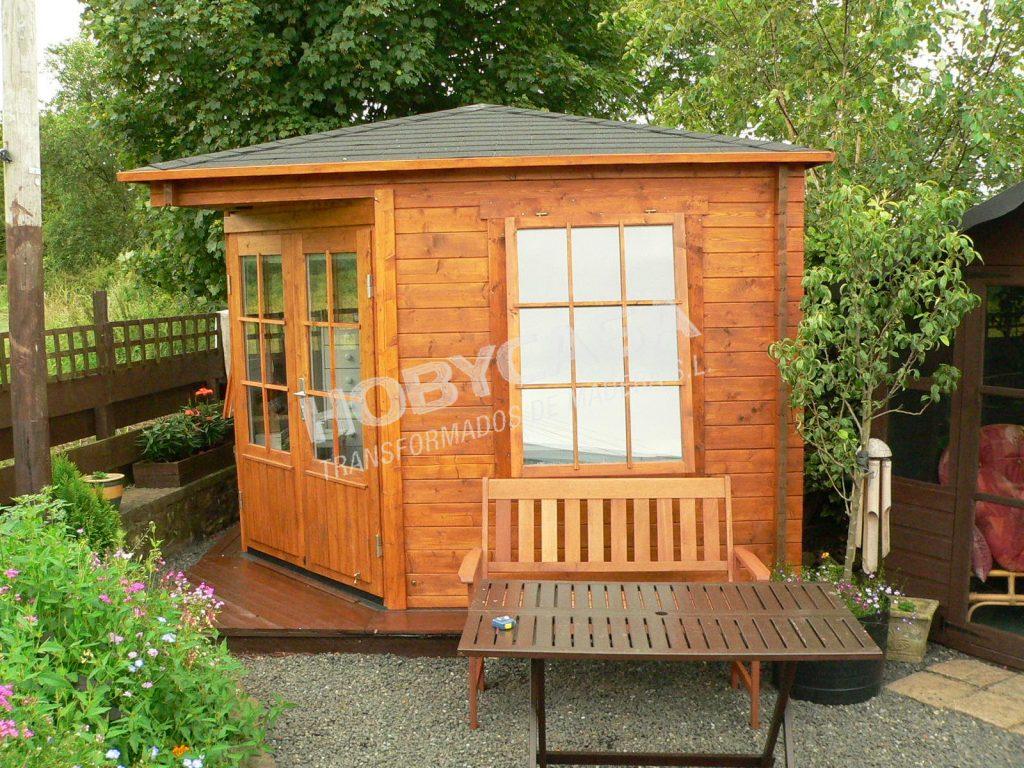 Casetas de jardín de madera a medida Emma