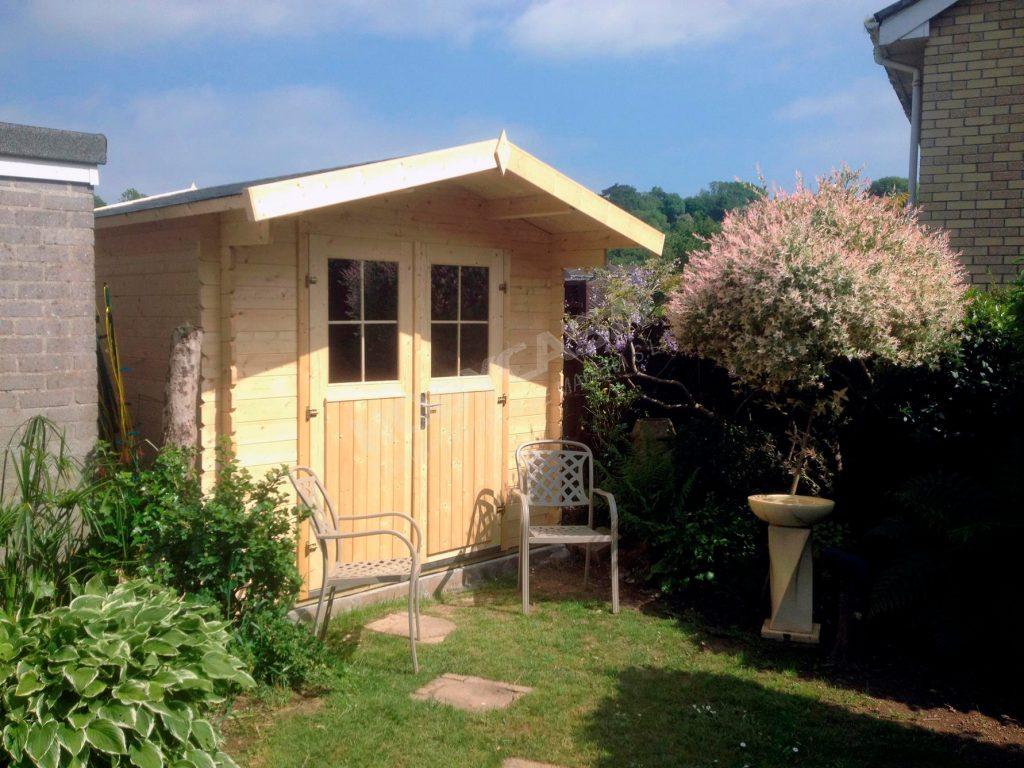 Casetas de jardín de madera a medida Gitte