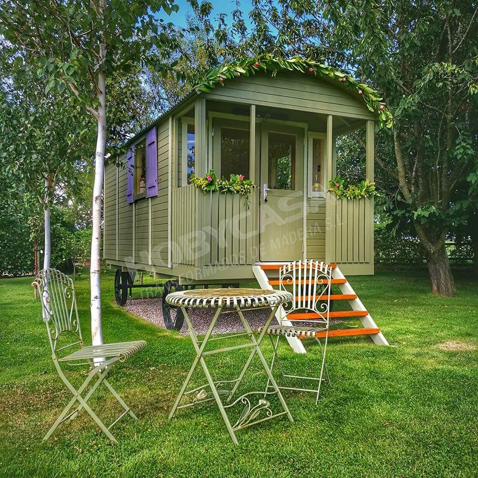 Casas de madera 20 m2 Caravan