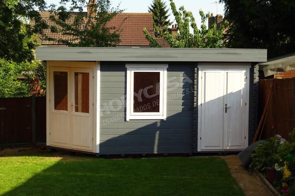 Casas de madera 20 m2 Helge