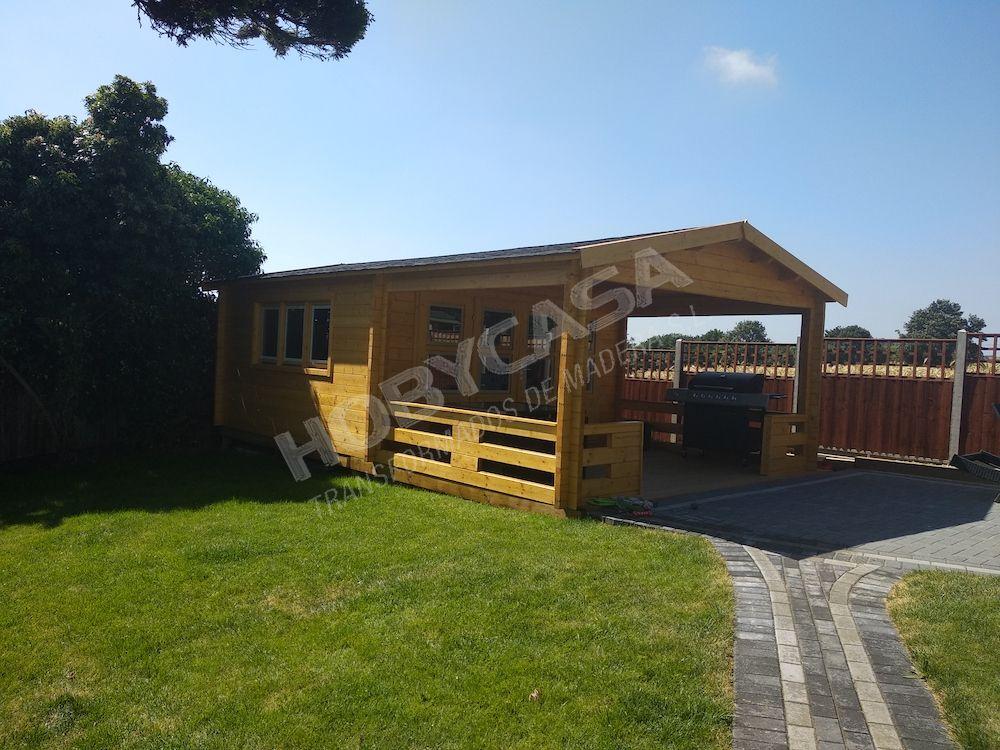 Que es más barata casa de madera o una prefabricada Leeds