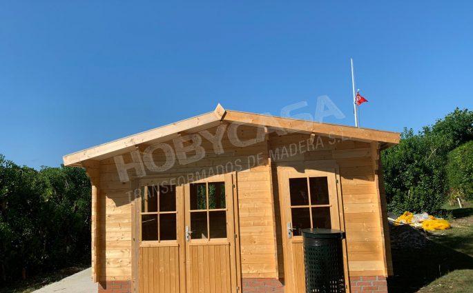 Casas prefabricadas de madera a medida Frente