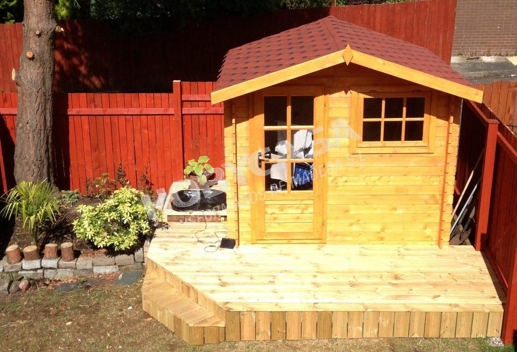 Casetas de madera para jardín a medida Onyx
