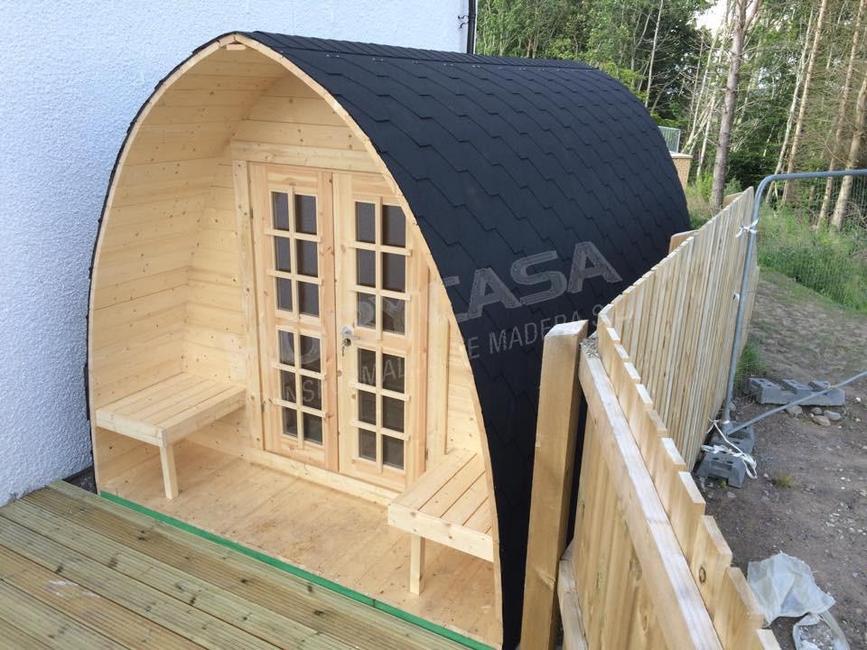 Casetas de jardín de madera a medida Pod