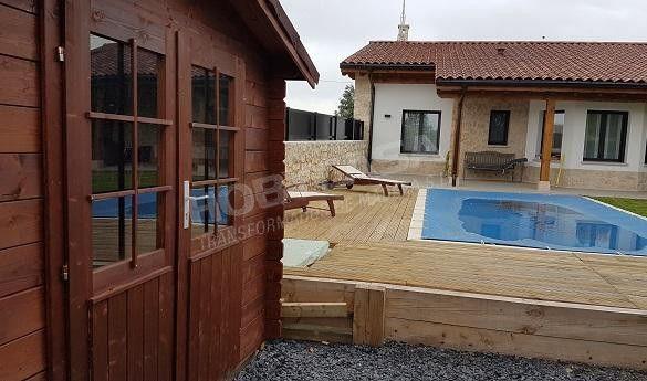 Que es la madera con tratamiento autoclave piscina