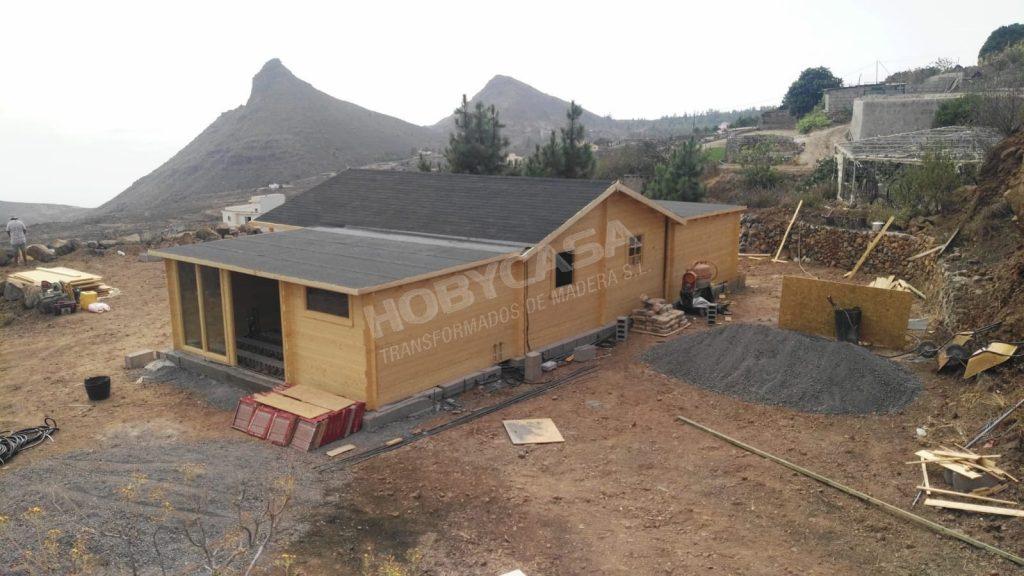 Casas prefabricadas de madera Javea Flow