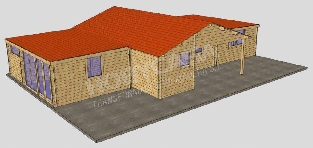 Casas prefabricadas de madera cadwork