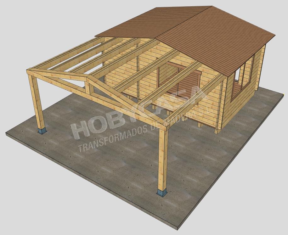 Casas prefabricadas de madera a medida Cadwork