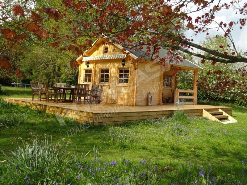 Que es más barata casa de madera o una prefabricada Edelweiss