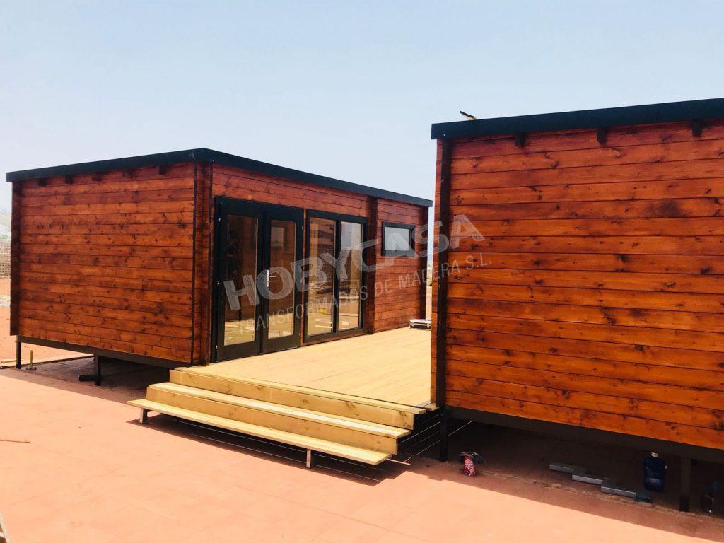 Casas de madera de 30 m2 Flow