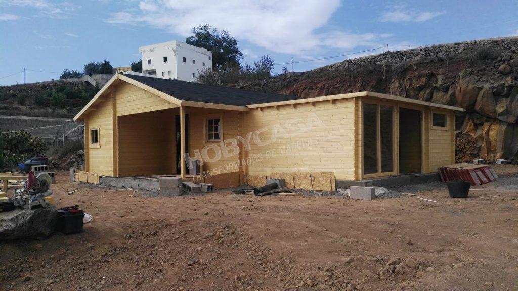 Casas prefabricadas de madera Frente
