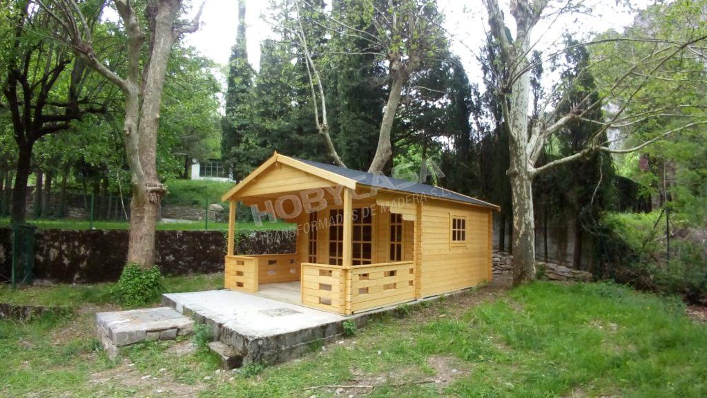 Casas de madera de 30 m2 Hedvig