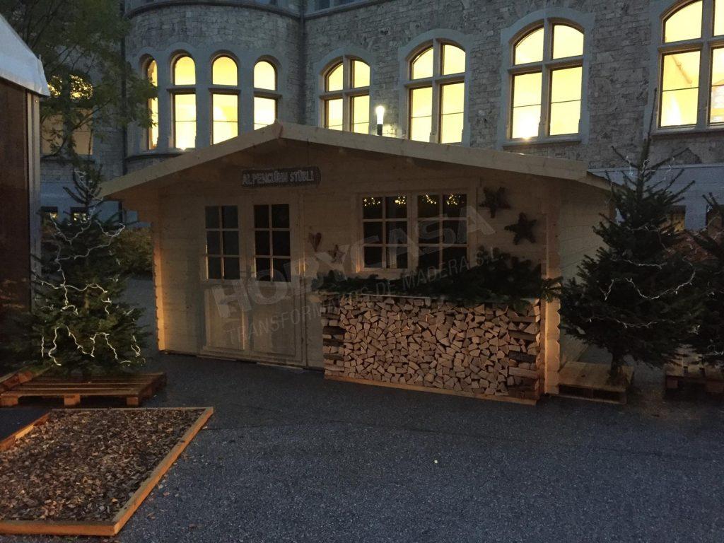 Casas de madera de 30 m2 Hendrick
