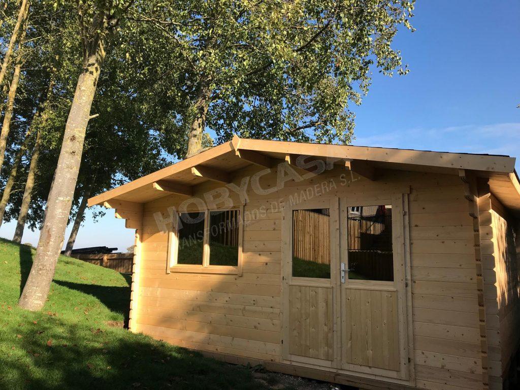Casas de madera de 30 m2 Rose