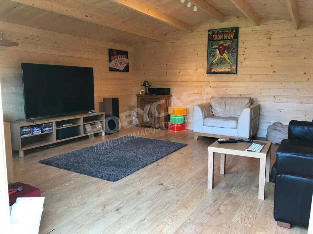 Casas de madera de 30 m2 Interior