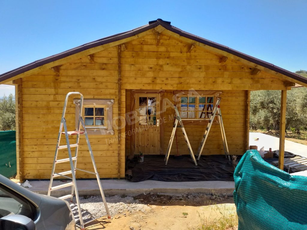 Casas de madera 40 m2 Javea